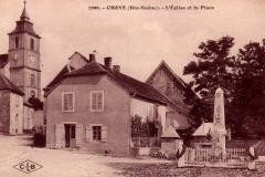 Choye L--glise et la Place .JPG
